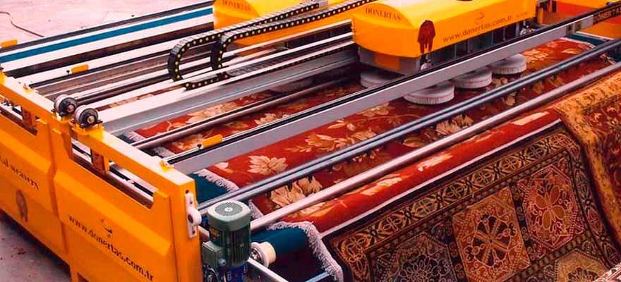 химчистка ковров на фабрике