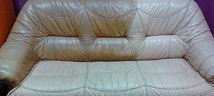 Химчистка кожаных диванов на дому