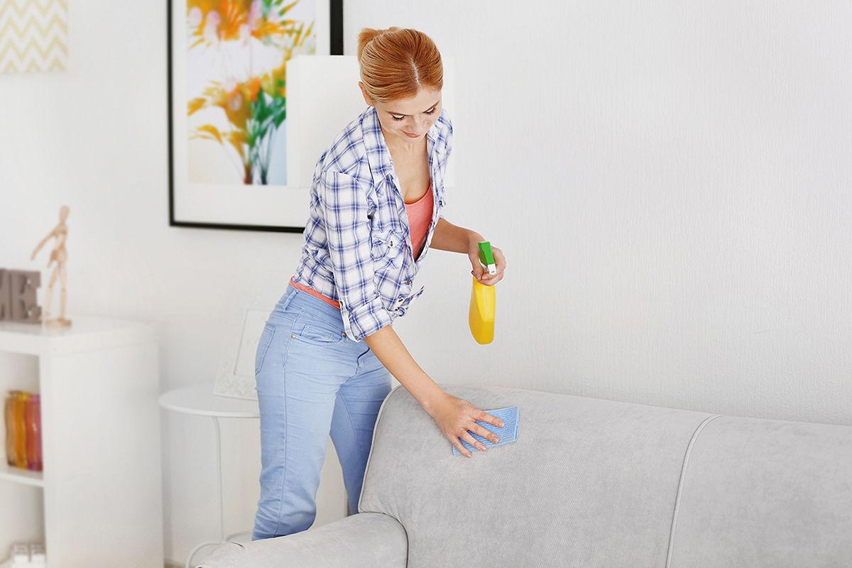 чистка мягкой мебели в домашних условиях