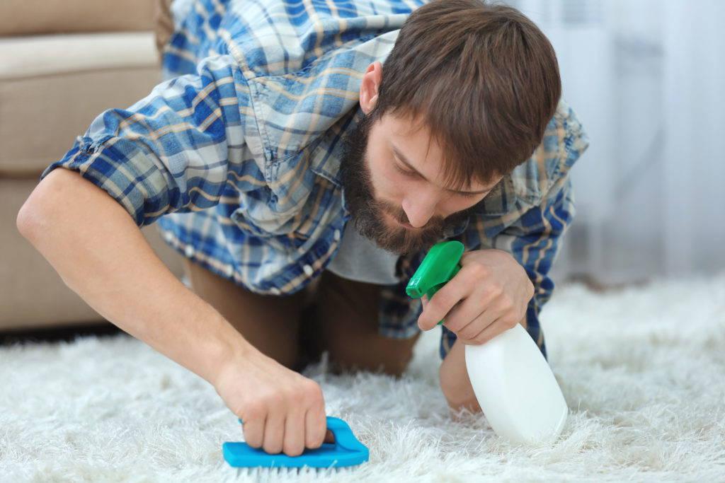 Чистка ковров самостоятельно