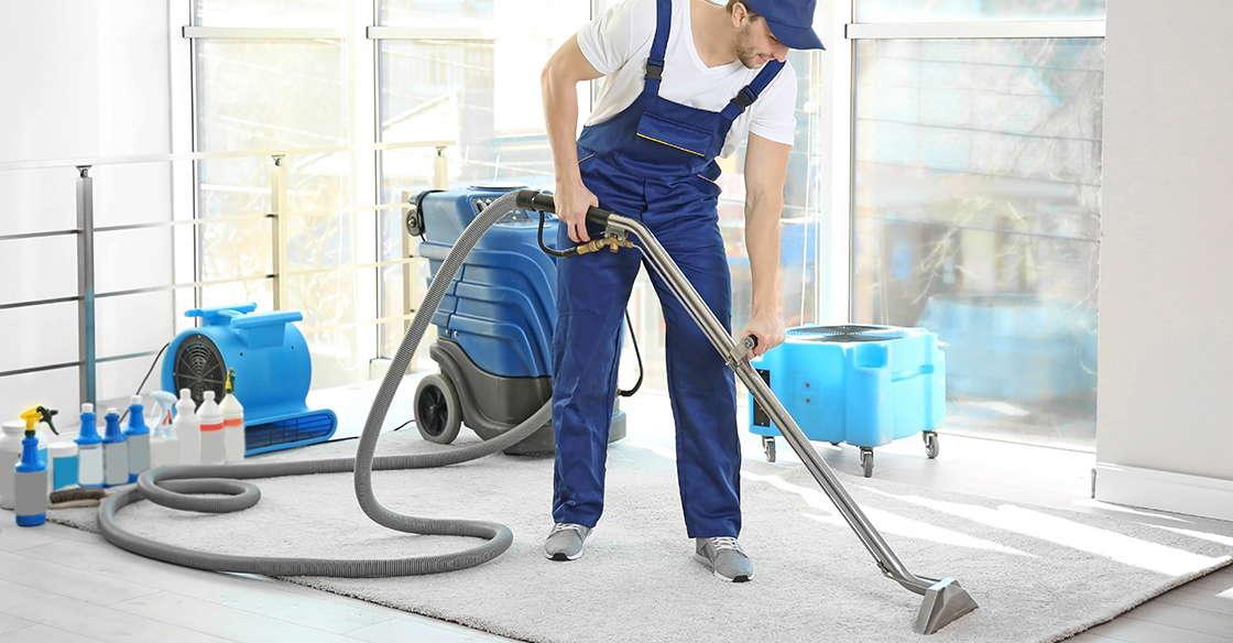 процесс работы чистки