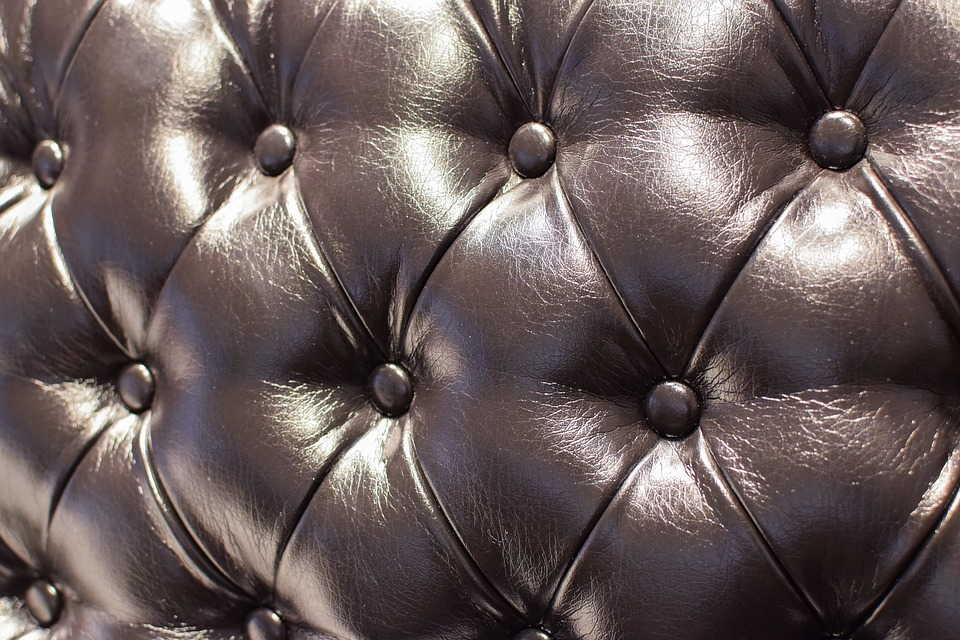спинка кожаного дивана