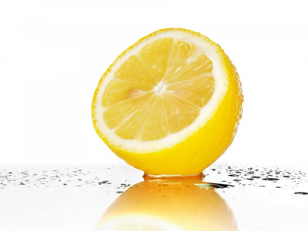 обрезанный лимон